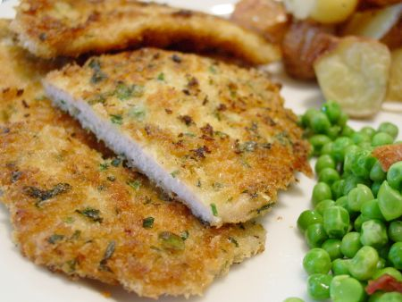 Recipes for breaded pork cutlets