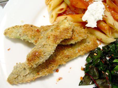 EEE Cooks: Breaded Eggplant (Recipe)